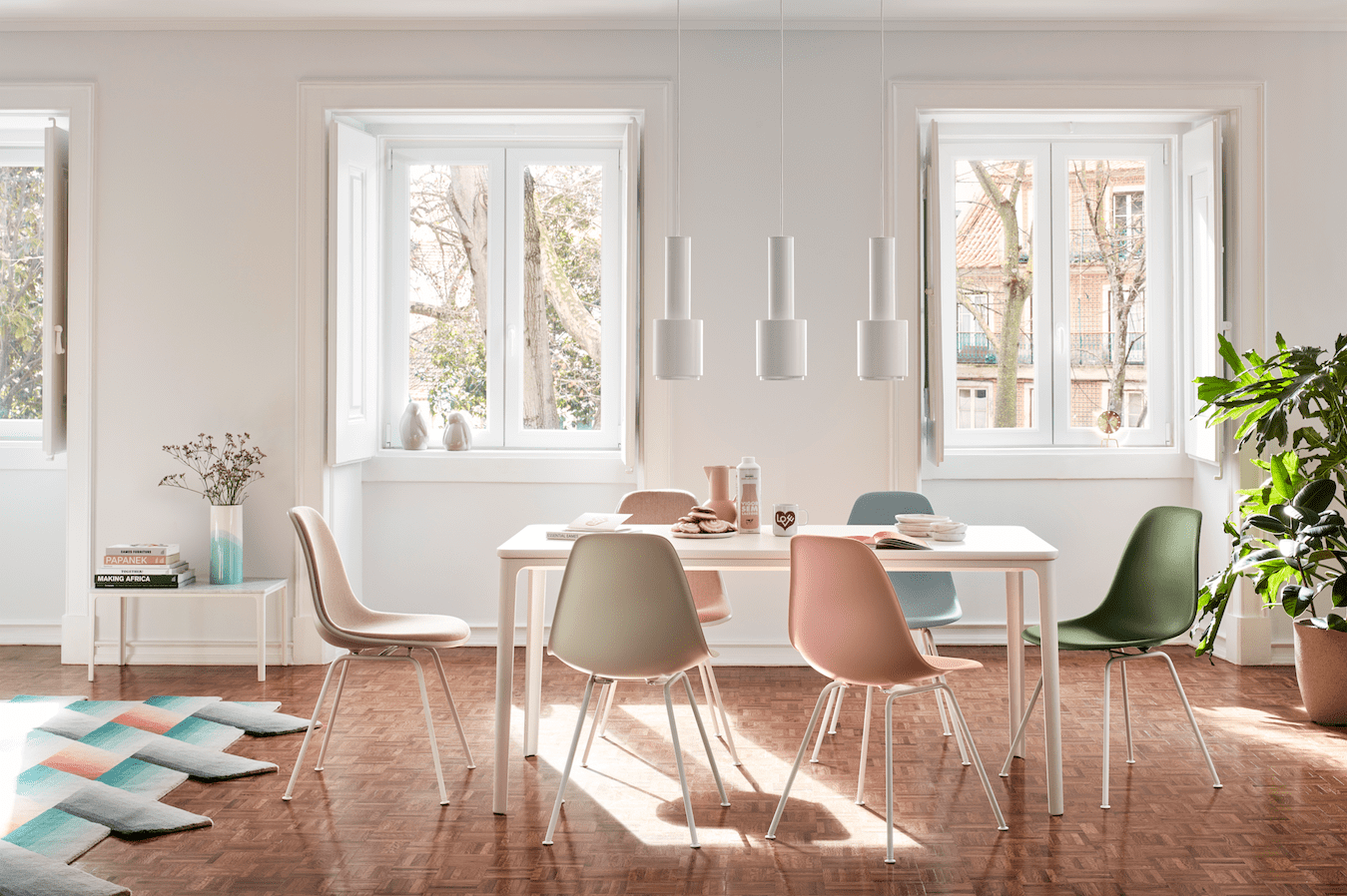 Eames Plastic Chair.