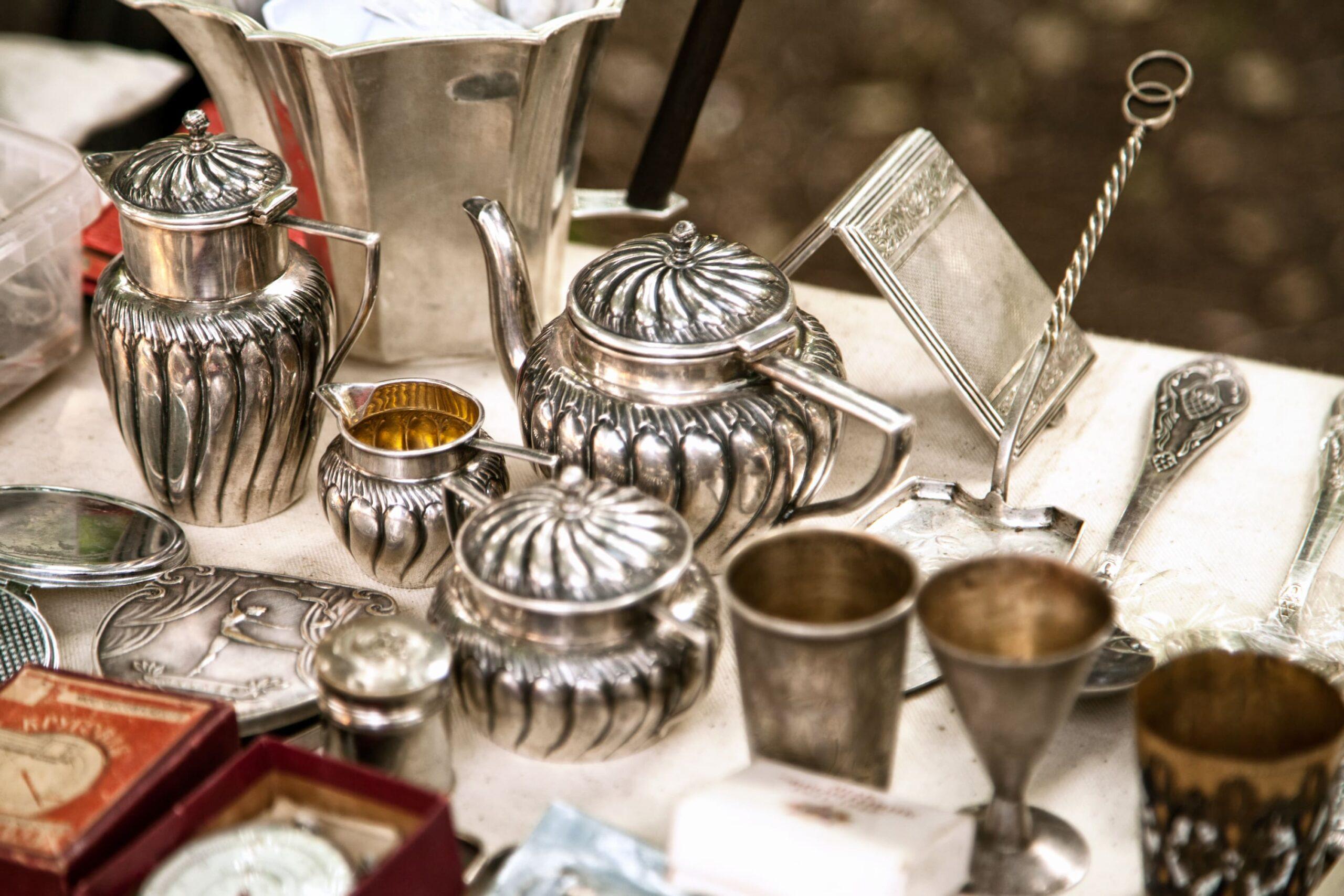 cubertería de plata
