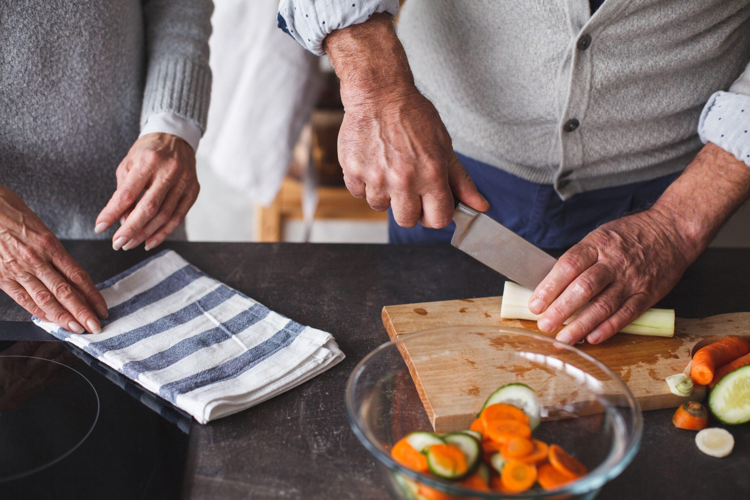 Silver cocinando