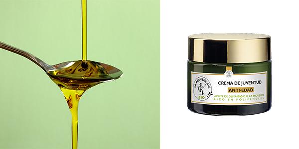 Crema Antiarrugas con Aceite de Oliva Bio, La Provençale Bio