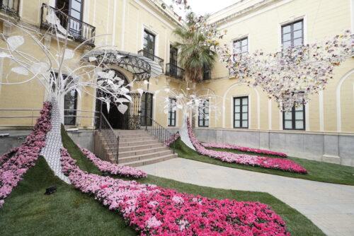El espectáculo visual del festival Flora 2021 en los patios de Córdoba