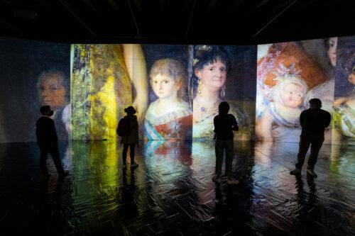 La exposición para sumergirse en las pinturas de Goya recala en Madrid