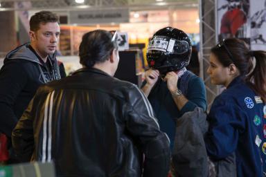 Prueba casco moto