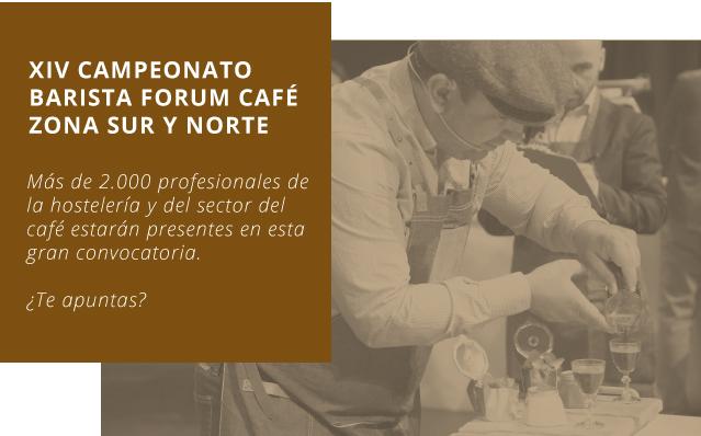 XIV Campeonato de baristas forum café zona sur y norte