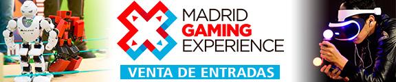 Venta de entradas Madrid Gaming Experience